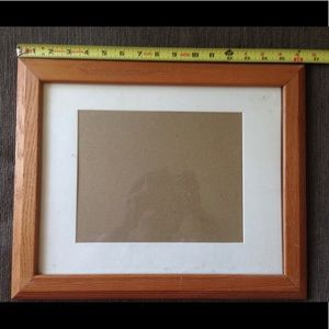 """🔴 NWOT Wood Picture Frame Hang Wall 9"""" x 7.5"""""""